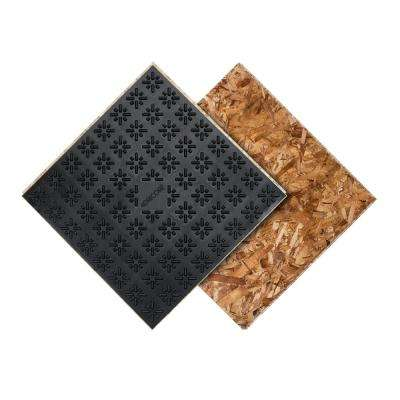 Subfloor Membrane Panel 3/4 in. x 2 ft. x 2 ft. Oriented Strand Board