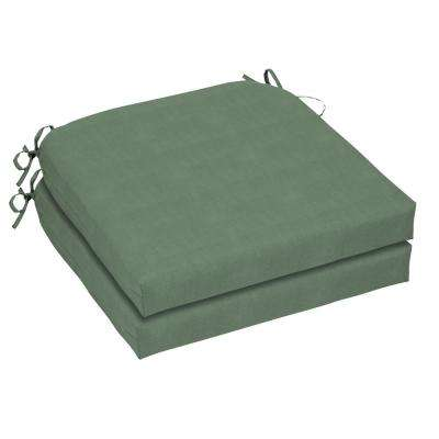 21 x 21 Outdoor Chair Cushion in CushionGuard Surplus (2-Pack)