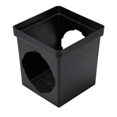 9 in. x 9 in. PVC Drainage Catch Basin