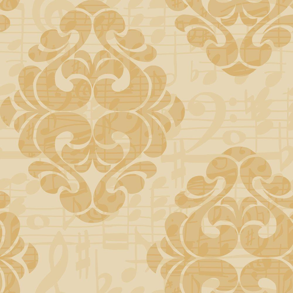 York Wallcoverings Tone On Tune Wallpaper