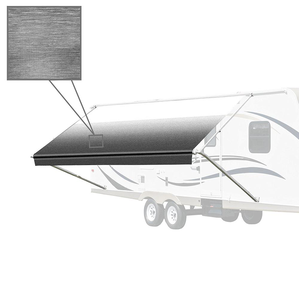 10 ft. RV Retractable Awning (96 in. Projection) in Black and
