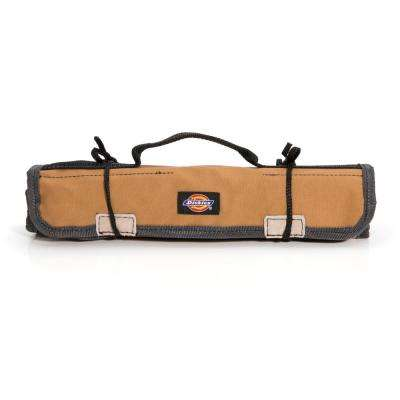 16-Compartments Small Parts Organizer Tool / Wrench Roll in Tan