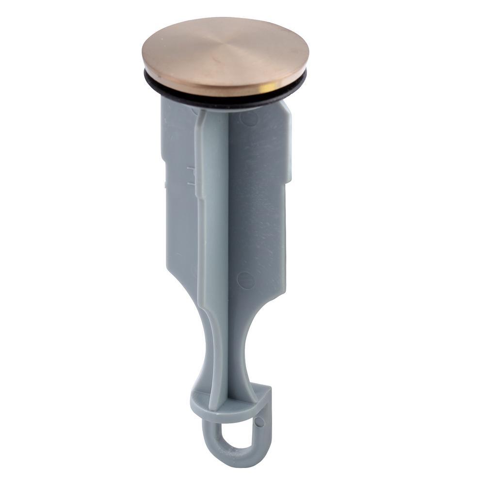 Drain Stopper for Bathroom Sinks in Champagne Bronze