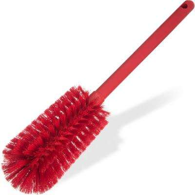 Sparta 16 in. Polyester Bottle Brush Long in Red (6-Pack)