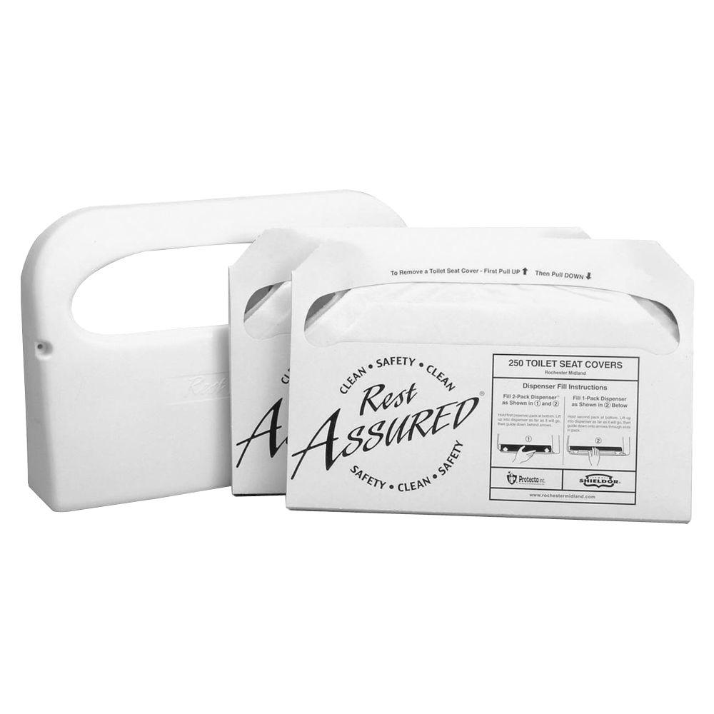 RMC Toilet Seat Cover Starter Set (500-Sheets)