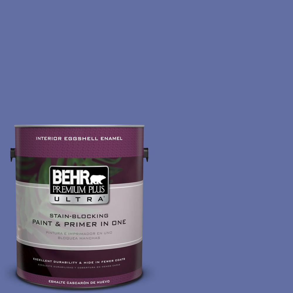 BEHR Premium Plus Ultra 1-gal. #610B-6 Stained Glass Eggshell Enamel Interior Paint
