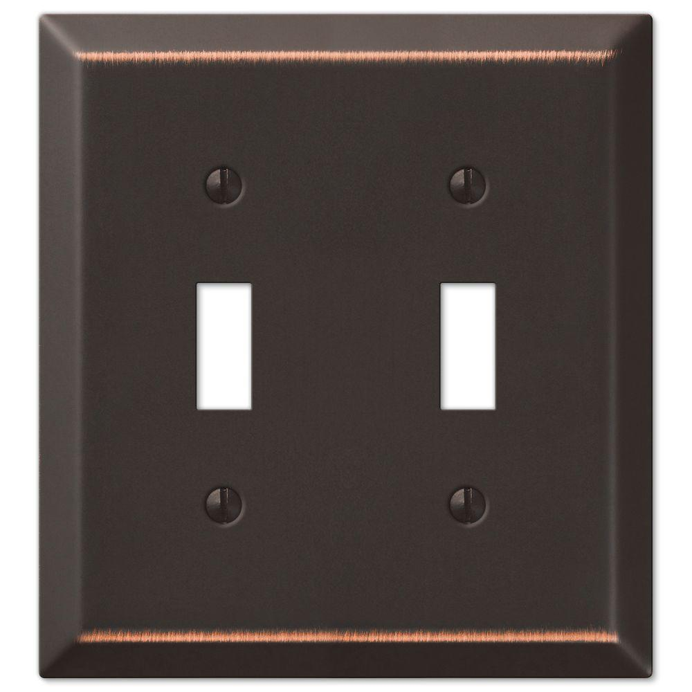 Metal Wall Plate Covers Chelsea  Switch Plates  Wall Plates  The Home Depot