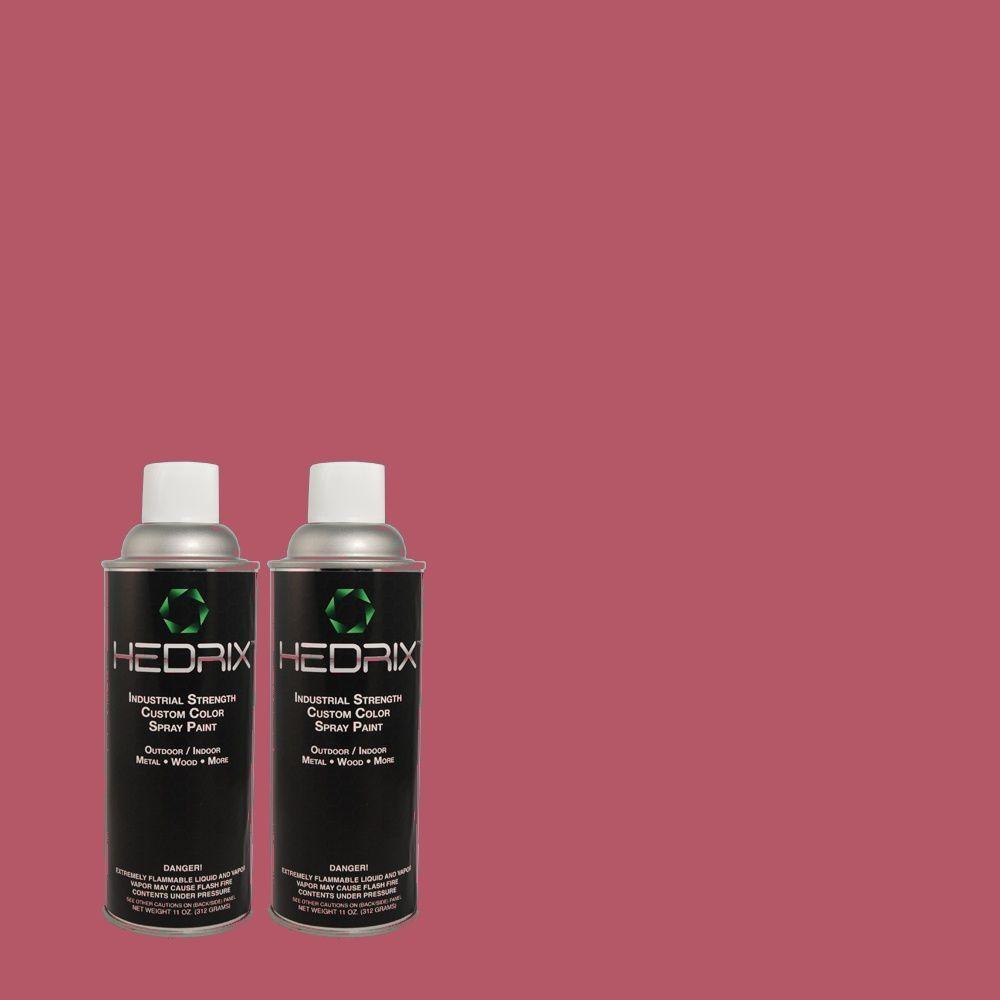 Hedrix 11 oz. Match of 110B-6 Cran Brook Gloss Custom Spray Paint (2-Pack)