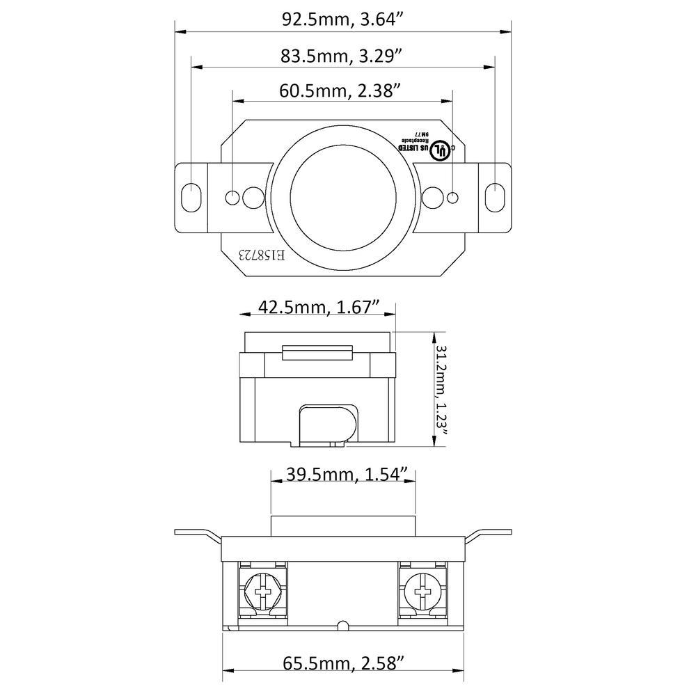 l16 30 wiring diagram ac works 30 amp 480 volt 3 phase nema l16 30r flush mount locking  nema l16 30r flush mount locking