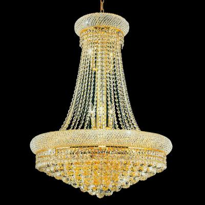 Empire 14-Light Gold Chandelier