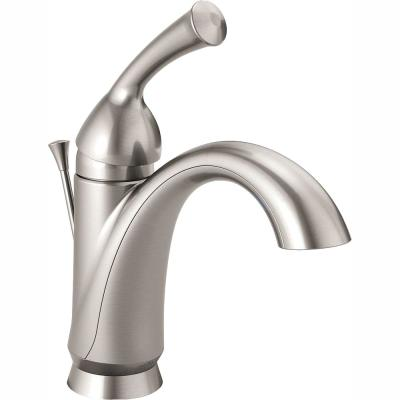 Haywood Single Hole Single-Handle Bathroom Faucet in Stainless