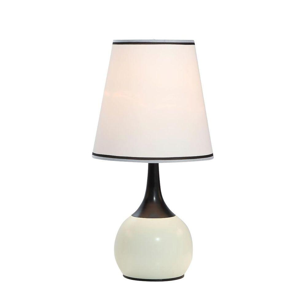 Ivory High Modern Touch Lamp