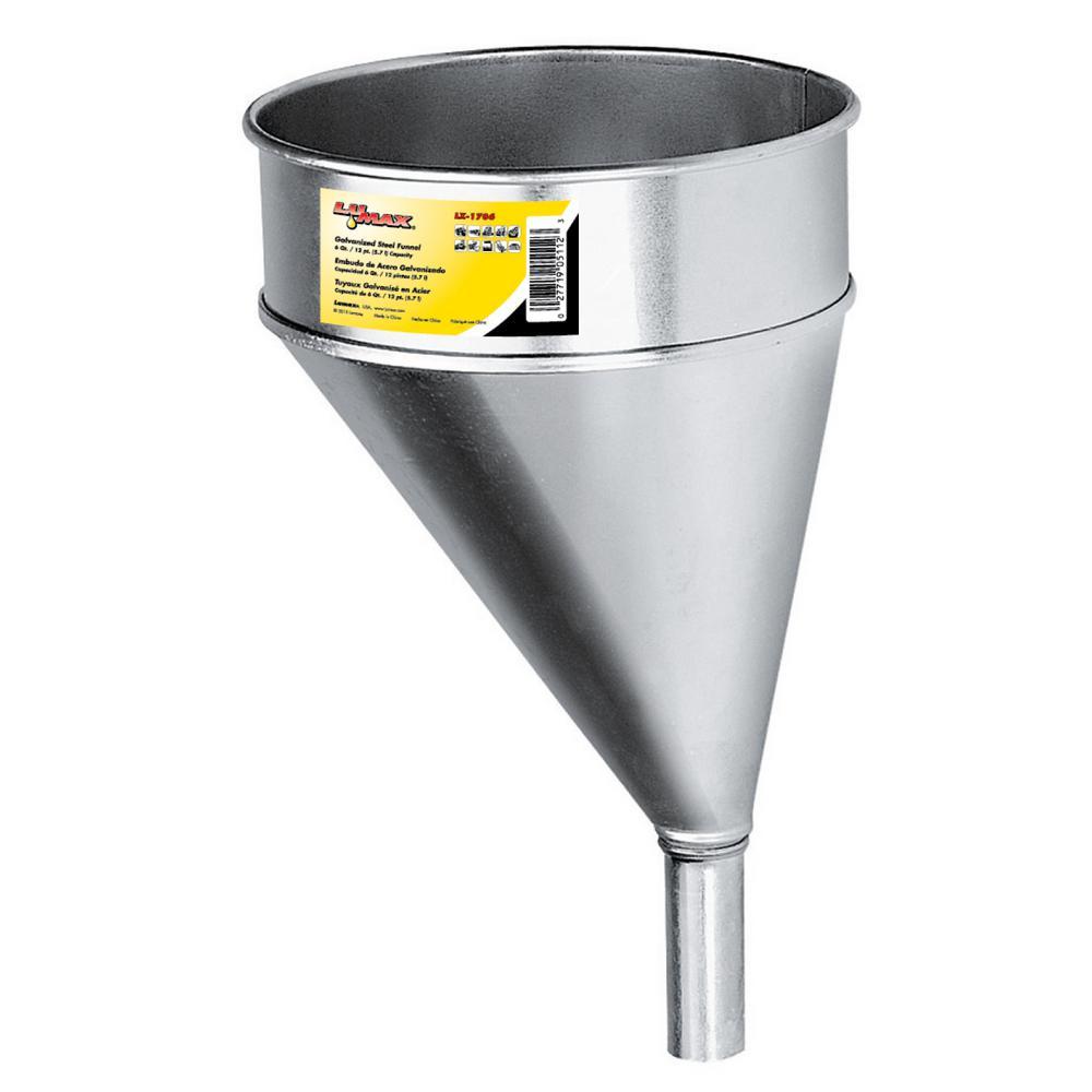 Galvanized Steel Offset Funnel