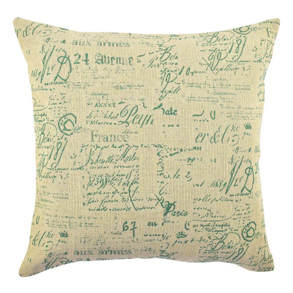 Elegant Typography Designer Throw Pillow