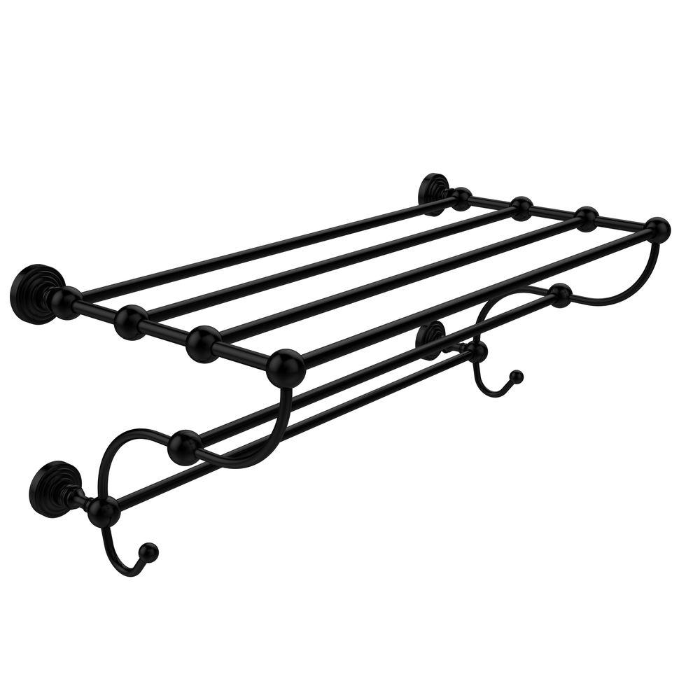 Waverly Place Collection 24 in. W Train Rack Towel Shelf in