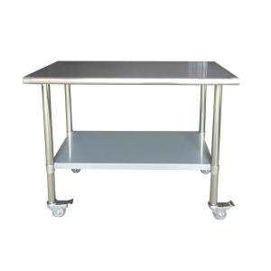 sportsman stainless steel kitchen utility table sswtable the