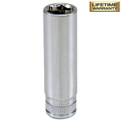 1/4 in. Drive 10 mm 6-Point Metric Deep Socket