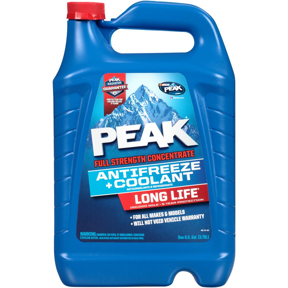 Long Life Full Strength Antifreeze and Coolant