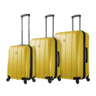 Tosetti 3-Piece Gold Hardside Spinner Luggage Set
