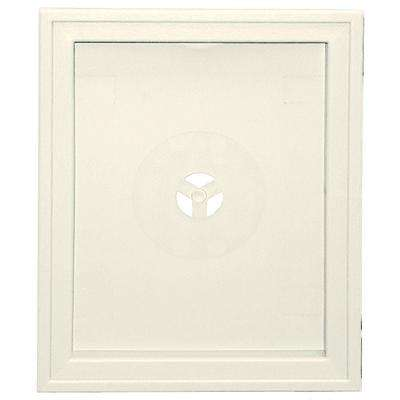 6.75 in. x 8.75 in. #034 Parchment Large Recessed Universal Mounting Block