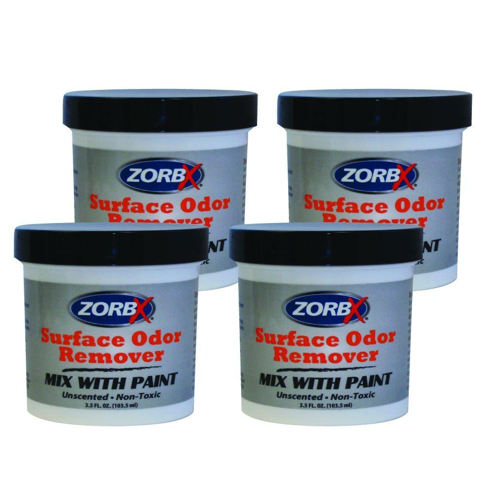 Zorbx Surface Odor Remover Paint Additive (4-Pack)