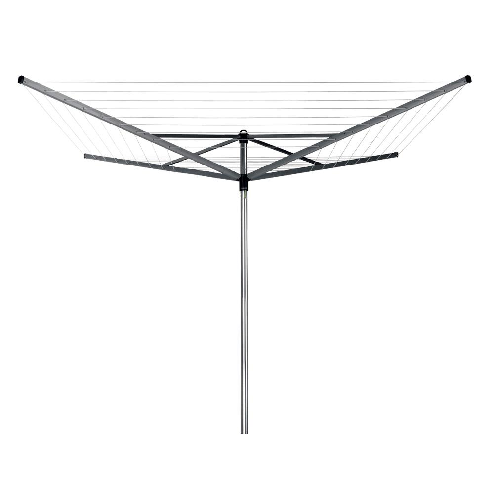 Brabantia Topspinner Rotary Clothesline with Ground Spike, 164ft. (50m)