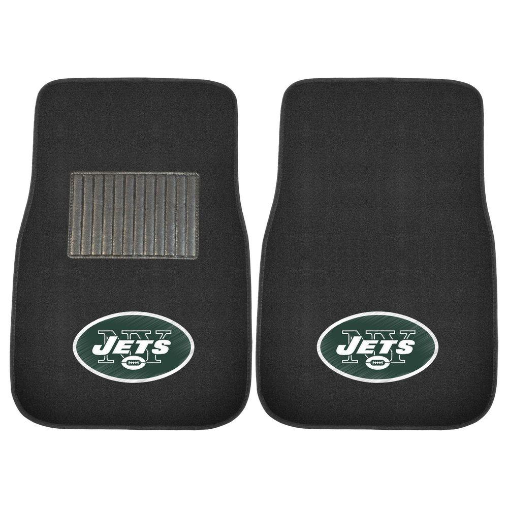 FANMATS NFL New York Jets 2-Piece 17 in. x 25.5 in. Carpet