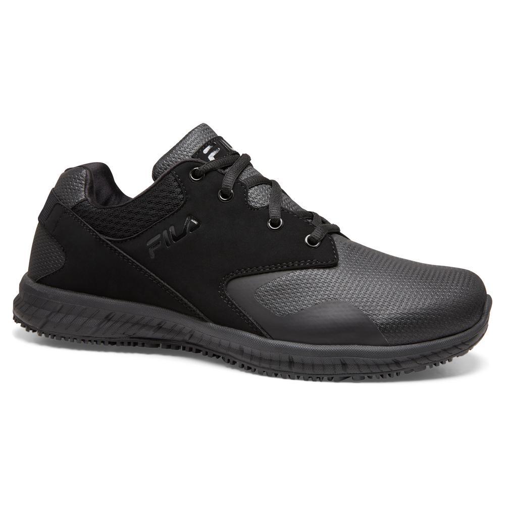 fila shoes all black