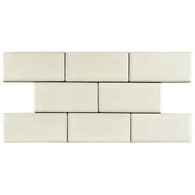 Essence Ivory Bone 2-3/4 in. x 5-3/4 in. Porcelain Floor and Wall Tile (0.92 sq. ft. / pack)