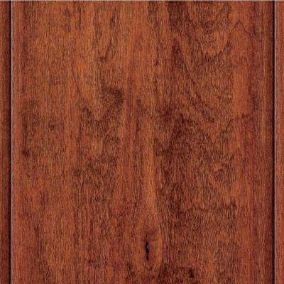 Hand Scraped Maple Modena 3/8 in.Thick x 4-3/4 in.W x 47-1/4 in. Length Click Lock Hardwood Flooring (24.94 sq.ft./case)
