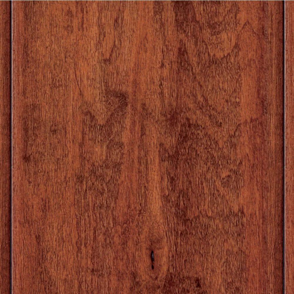 Home Legend Take Home Sample - Hand Scraped Maple Modena Click Lock Hardwood Flooring - 5 in. x 7 in.