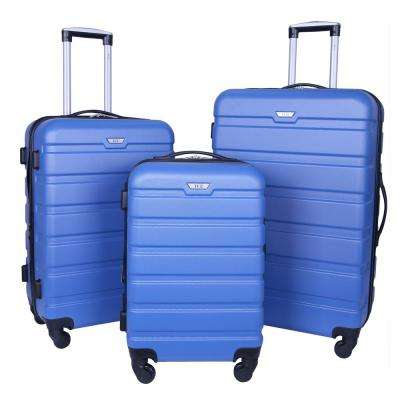 3-Piece Expandable 3-In-1 Luggage Collection with 360° 4-Wheel Spinner System