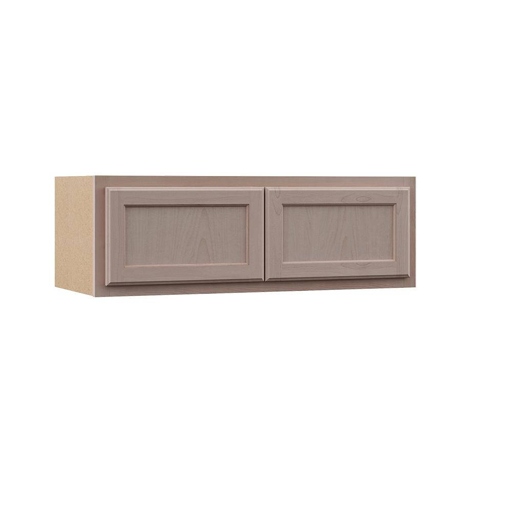 Buying Unfinished Kitchen Cabinets: Assembled 36x12x12 In. Wall Kitchen Cabinet In Unfinished