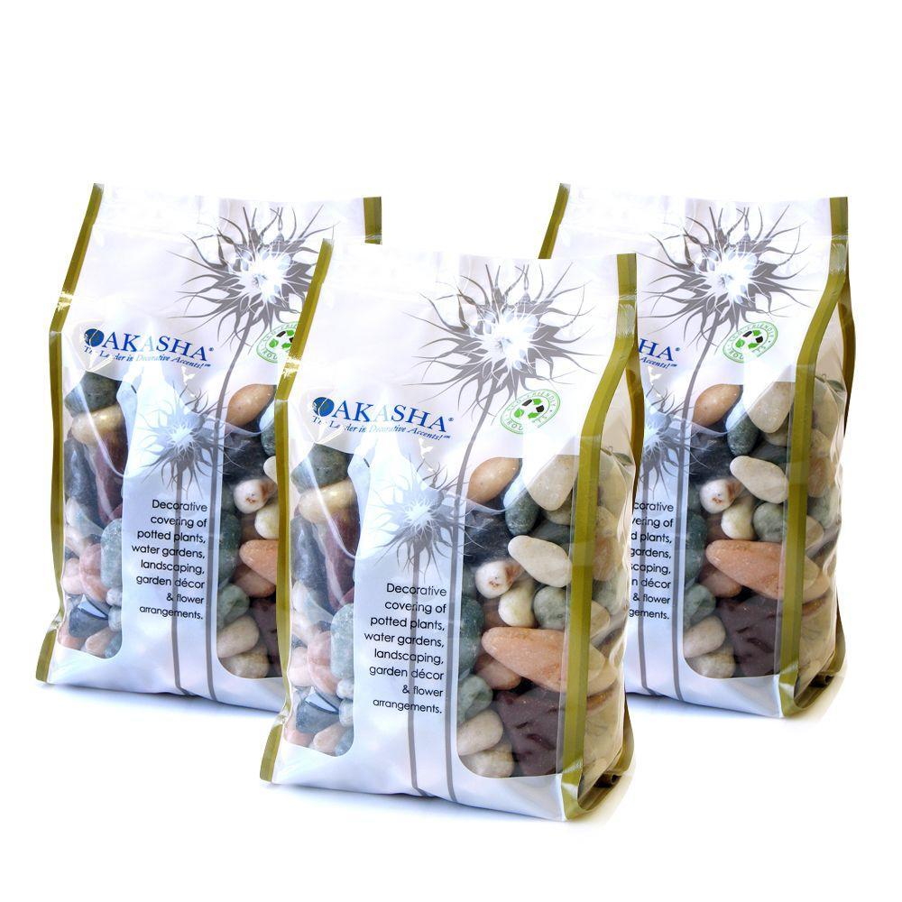 15 lb. Countryside River Rock Box Contains (3) 5 lb. Bags