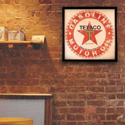 Vintage Texaco Gasoline Motor Oil Marquee LED Sign