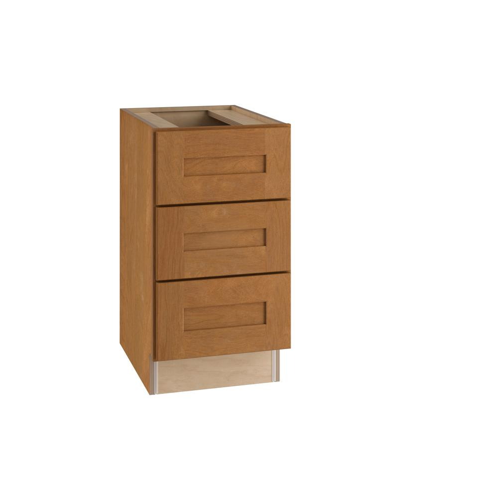 Home Decorators Collection Hargrove Assembled 15x28.5x21 In. 3 Drawers Base  Desk Cabinet In