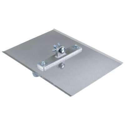 12 in. x 9 in. 1/4 R, 1-1/2 D Steel Power Groover Without Handle