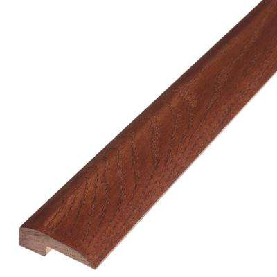 Saddle 5/8 in. Thick x 2 in. Wide x 78 in. Length Engineered Hardwood Threshold Molding
