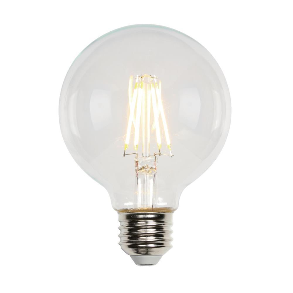 Westinghouse 40w Equivalent Soft White G25 Dimmable Filament Led Light Bulb 3317200 The Home Depot