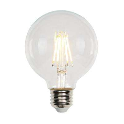40W Equivalent Soft White G25 Dimmable Filament LED Light Bulb