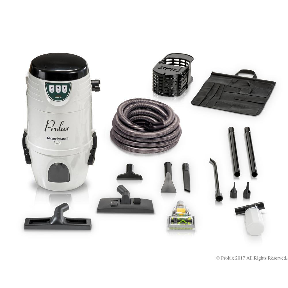 Prolux Lite 4 Gal Professional Wall Mounted Garage Wet Dry Vacuum Pick