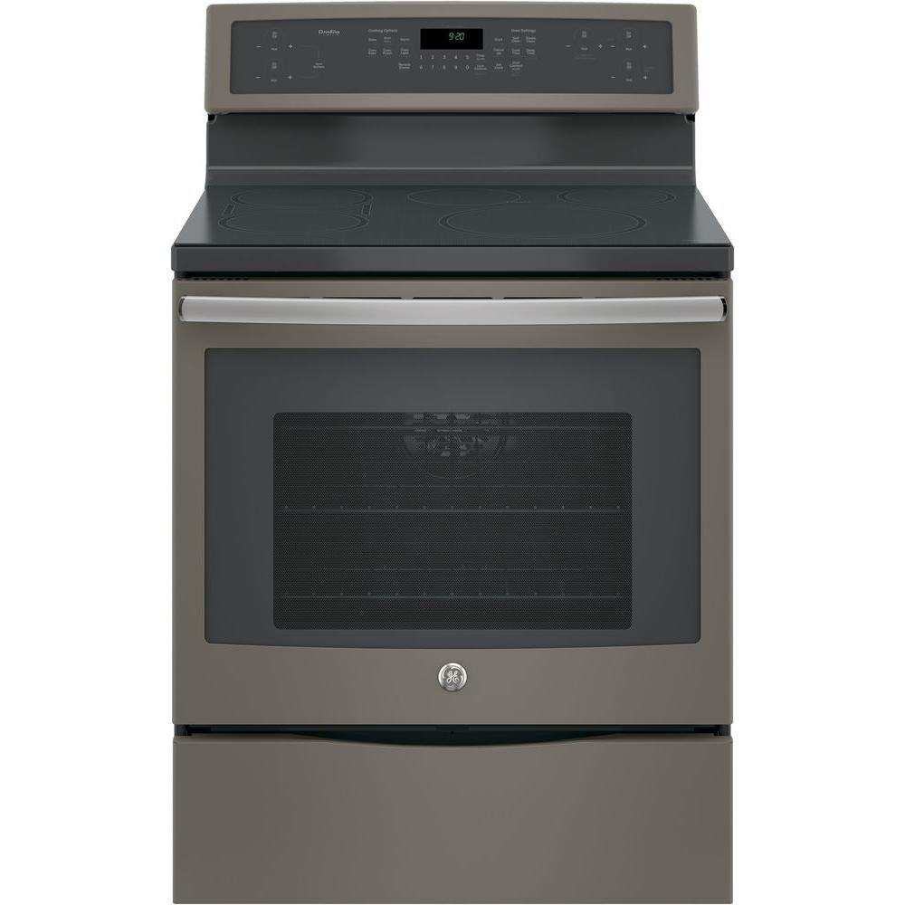 30 in. 5.3 cu. ft. Smart Free Standing Convection Range with