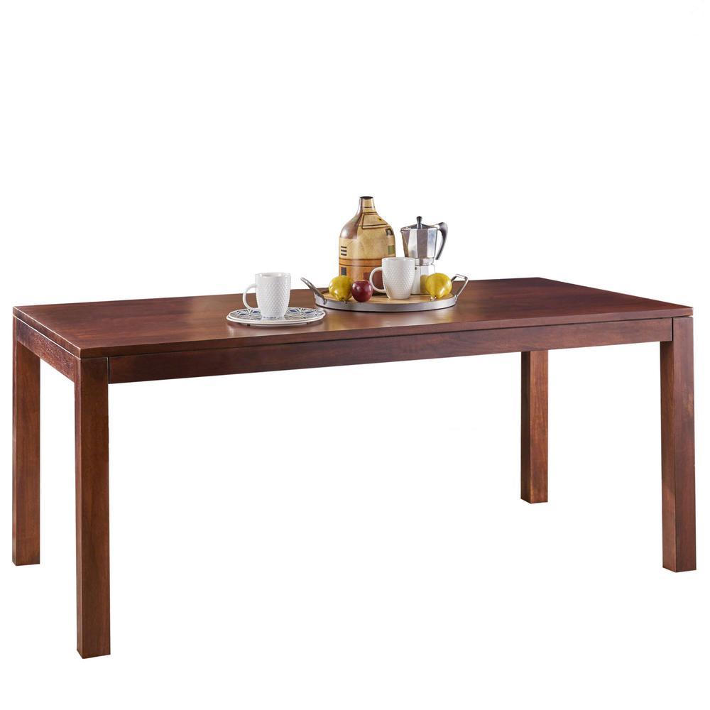 Celestyna Rectangular Cinnamon Mango Wood Dining Table