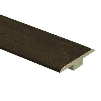 Java Scraped Oak 9/16 in. Thick x 1-3/4 in. Wide x 72 in. Length Laminate T-Molding
