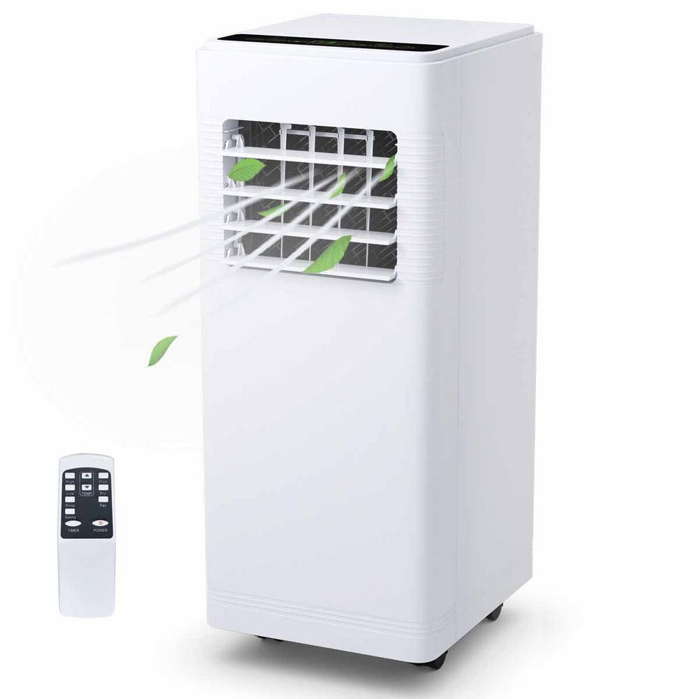 12000 BTU Electric Portable Air Conditioner Cooler Fan with Dehumidifier in White