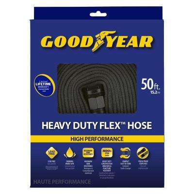 1/2 in. dia. x 50 ft. heavy duty flat hose