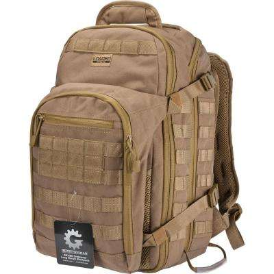Loaded Gear GX-600 Large Flat 19.69 in. Dark Earth Ballistic Nylon Crossover Backpack