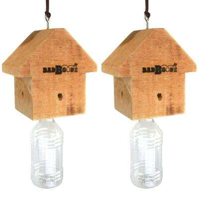 Bad Bee Gone-Carpenter Bee Trap (Set of 2)