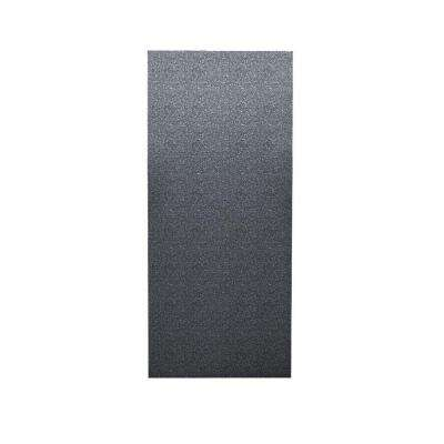Pebble 1/4 in. x 36 in. x 96 in. One Piece Easy Up Adhesive Shower Wall in Night Sky