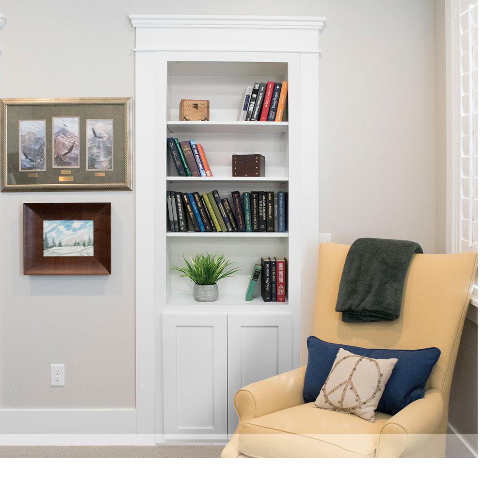 Assembled Flush Mount Cabinet Door